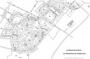 Le plan de la résidence